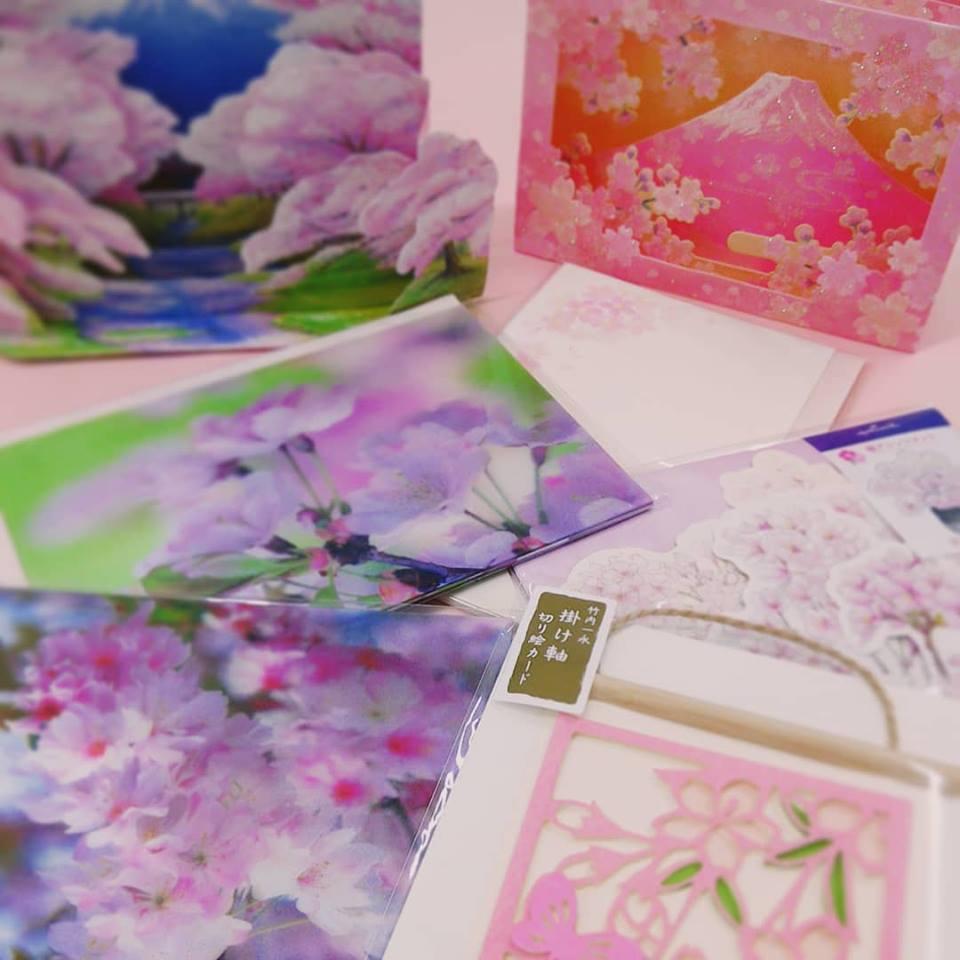 春柄ポストカード